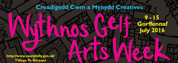 Banner for Caerphilly Art Trail and Week 2016