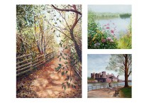Scenes and landscape paintings